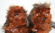 STAR WARS CHEWBACCA CHEWIE WOOKIE Plush Toddler SLIPPERS HOUSE Shoes S-XL NWT