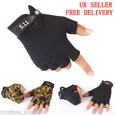 511 Military Fingerless Sports Bicycle Cycling Gloves Half Finger Fingerless
