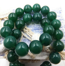 Green agate Natural Gemstone Round Spacer Loose Beads  6mm 8mm 10mm 12mm