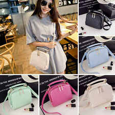 Fashion Ladies Women PU Leather Casual Hobo Shoulder Bag Tote Purse Handbag Bag