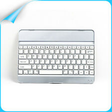 Slim Aluminum Wireless Bluetooth Keyboard Cover Case For Apple iPad Air iPad 5