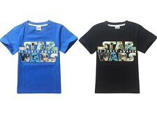 Cozy Costume STAR WARS Top Kids Boys Girls Toddlers Cotton Short Sleeve T-Shirts