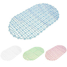 PVC Strong Non Slip Bathroom Floor Shower Tub Mat Massage Pad Suction Cup WS