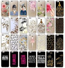 2016 Hot Fashion Cute Flowers Pattern Slim Soft TPU Phone Case Cover For iphone