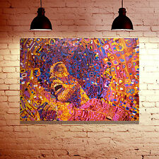 ABSTRACT REVOLUTION POP ART IMAGE FRAMED CANVAS WALL ART PHOTO PRINT - GIFT