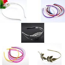 Fashion Hair Band Women Girls' Headbands Barrettes DIY Crafts Jewelry Findings