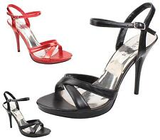 WOMENS LADIES HIGH HEEL SLINGBACK STRAPPY SANDALS OPEN TOE PARTY PROM SHOES SIZE