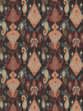 Lyssa Ikat Aztec Drapery and Upholstery Fabric