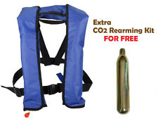 Manual Inflatable Life Vest PFD Jacket for Adult/Youth 1 Extra 33G Co2 for FREE