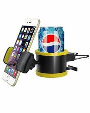 Car Air Vent Mount Cradle Holder Stand Drink Cup For Mobile Cell Phone GPS