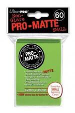YuGiOh Sleeves 60ct Pro-Matte Lime Green Small Deck Protectors Vanguard Size
