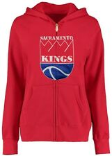 Sacramento Kings NBA Mens Red Tricot Track Jacket Hoodie Big & Tall Sizes