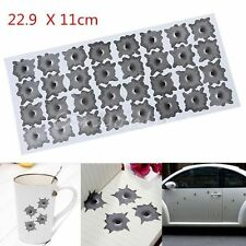 25/32 Bullet Holes Orifice stickers Graphic Decal for Car Auto Body Paper Decor
