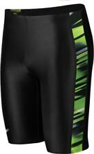 Speedo Men's/Boys Xtra Life Lycra Fractal Point Splice Jammer Kelly Green 20-28