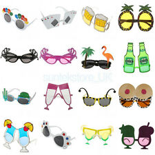 Hawaiian Fancy Dress Costume Party Glasses Beach Sunglasses Paw Beer Pineapple