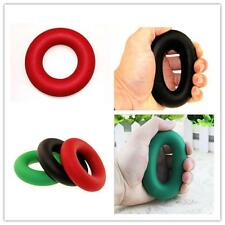 30/40/50 LBS Fitness Strength Exercise Rubber Ring Hand Power Grip Gripper .