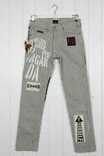 NEW VIVIENNE WESTWOOD ANGLOMANIA X LEE BONDAGE JEANS TROUSERS L32/L34 All Sizes