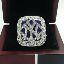 Year 2009 New York Yankees World Series Championship Solid Alloy Ring 11Size+Box