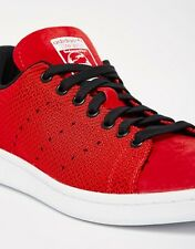 Adidas Originals Stan Smith Weave Casual Mens Shoes Red/Black/White M17159 SIZES