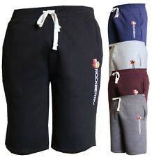 RockBerry Mens Slim Skinny Jogger Shorts Loose Casual Gym Trousers Sport shorts