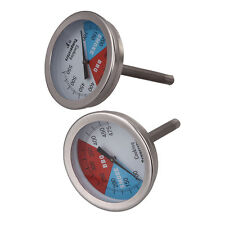 "2"" 475/550RWB BBQ CHARCOAL GRILL WOOD SMOKER OVEN PIT TEMP GAUGE THERMOMETER #W5"