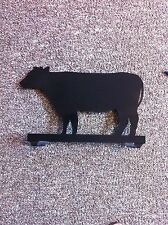 Cow Mail Box Topper Hand Made Metal Cow Mailbox Topper Sign