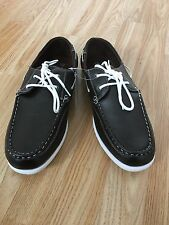 Mens Black Loafer Slip on Moccasin Driving Boat Classic Shoes Smart Casuals 6-11