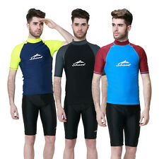 Summer New Popular Men Scuba Snorkeling Wetsuit Rash Guard Surfing Surf Swimwear