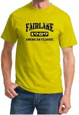 1959 Ford Fairlane American Muscle Car Classic Design Tshirt NEW