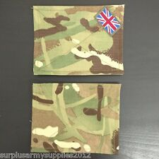 BRITISH ARMY ISSUED BLANKING PATCHES UBAC SHIRT SMOCK VELCRO PANEL MTP PCS