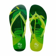 Havaianas Brazil Slim Carioca Rio 2016 Lemon Green Oliympic Brand New Any Size