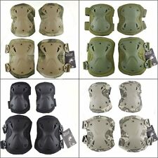Tactical Airsoft Combat Adjustable Skate Knee Pads Protective Knee & Elbow Pad