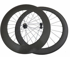Only 1640g 700C 50+88mm Clincher Straight Pull Carbon Wheels Road Bike Wheelset