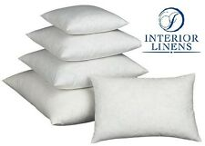 """Pillow Inserts: 10/90 White Goose Down - 2"""" Oversized & Firm Filled"""