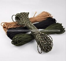 7 Strand Core Paracord Parachute Cord Lanyard Mil Spec Type III 100ft S7