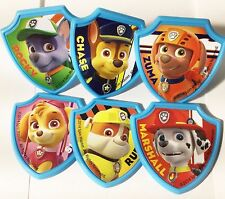 Paw Patrol Birthday Party Cupcake Topper Rings Party Favors Free Ship 12/24/36