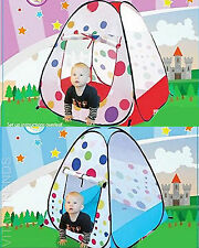 Kids Play Tent Spotty Children's Igloo Play House  Fun Game Pop Up Tent Toy