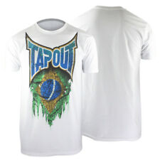 Tapout World Collection Brazil T-Shirt (White) - mma ufc street