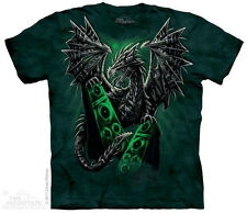 Electric Dragon The Mountain Adult Size T-Shirt