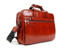 Bosca Old Leather Two Compartment Stringer Briefbag 817