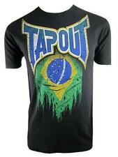 Tapout World Collection Brazil T-Shirt (Black) - mma ufc street