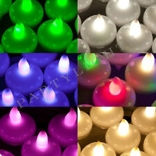 Floating LED Tea Light 7-colours Fish Bowl Balloon Light for Wedding Party Decor
