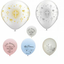 Baptism or Communion Latex Balloons 25 - 36 Counts