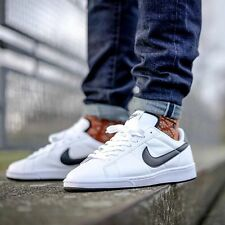 Nike Tennis Classic Mens Shoes/Sneakers White/Black Leather 312495 129 All Sizes