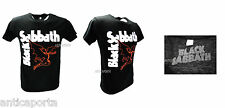 T-Shirt Original Black Sabbath Rock Knit Shirt Heavy Metal Black