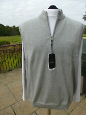 MENS GREG NORMAN COLLECTION SLEEVELESS LINED SWEATER LARGE