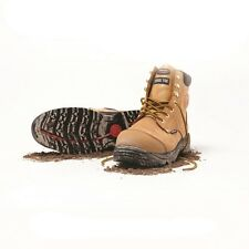 Mack Stirling Boot, comfortable, Steel Safety Toe, Wheat/Honey