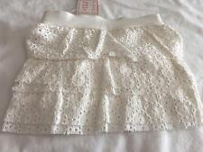 CLAESENS - Dutch Baby Girls Cream/Off White Broderie Anglais Skirt 9m & 12m NWT