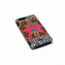 For Motorola Droid X MB810 / X2 MB870 Hybrid 2-in-1 Case Safari Ribbon & Bow