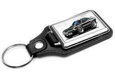1970 Plymouth Cuda Muscle Car-toon Key Chain Ring Fob NEW